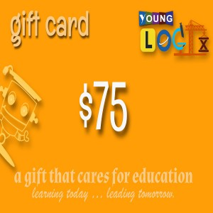 gift card front $75